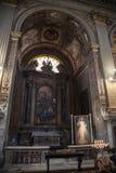Kerk van San Marcello al Corso in Rome Stock Afbeelding