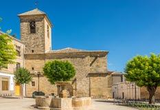 Kerk van San Pedro in Ubeda, Spanje royalty-vrije stock afbeelding