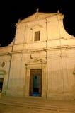 Kerk van San Rocco Ceglie Italia Puglia Stock Afbeelding