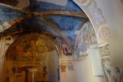 Kerk van Sant'Andrea in Spello Stock Fotografie