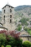 Kerk van Sant Esteve in Andorra Royalty-vrije Stock Foto's
