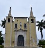 Kerk van Santa Anna Stock Afbeeldingen