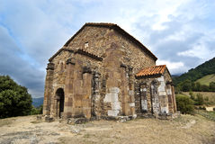 Kerk van Santa Cristina DE Lena Oviedo stock foto