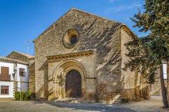 Kerk van Santa Cruz, Baeza, Spanje royalty-vrije stock foto's