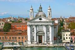Kerk van Santa Maria del Rosario (Gesuati), Venetië Italië Stock Afbeeldingen