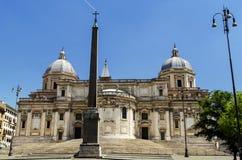 Kerk van Santa Maria Maggiore Royalty-vrije Stock Foto's