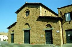 Kerk van Santa Maria Maggiore, Cerveteri, Italië royalty-vrije stock foto