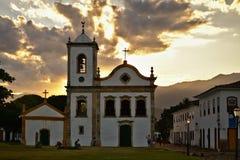 Kerk van Santa Rita de Cassia stock afbeelding