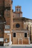 Kerk van Santi Giovanni e Paolo, Venetië Stock Afbeeldingen