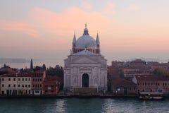 Kerk van Santissimo Redentore Venetië Italië Stock Fotografie
