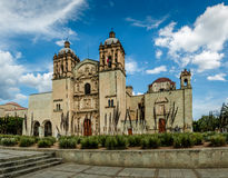 Kerk van Santo Domingo de Guzman - Oaxaca, Mexico stock fotografie