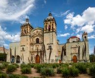 Kerk van Santo Domingo de Guzman - Oaxaca, Mexico stock afbeelding