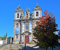 Kerk van Santo Ildefonso Royalty-vrije Stock Afbeeldingen