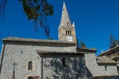 Kerk 4 van Sauzed ` Oulx Royalty-vrije Stock Afbeelding