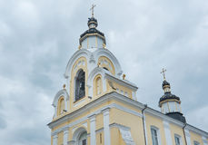 Kerk van Sinterklaas in Novogrudok, Wit-Rusland Stock Foto