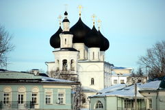 Kerk van Sinterklaas in Vologda Stock Fotografie