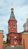 Kerk van Ss. Boris en Gleb in Degunino, Moskou Royalty-vrije Stock Foto's