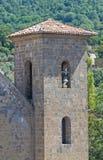 Kerk van SS. Salvatore. Bolsena. Lazio. Italië. Royalty-vrije Stock Foto's