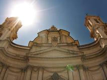 Kerk van St. Agnessy, stock foto's