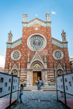 Kerk van St Anthony van Padua in Beyoglu, Istanboel Stock Afbeelding