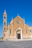 Kerk van St. Antonio. Manduria. Puglia. Italië. royalty-vrije stock fotografie