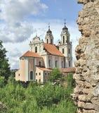 Kerk van St. Catherine Royalty-vrije Stock Afbeelding
