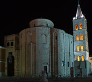 Kerk van St.Donatus Zadar Stock Fotografie