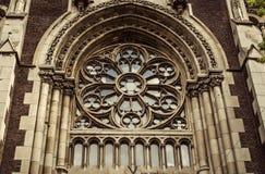 Kerk van St. Elisabeth, Lviv stock afbeeldingen