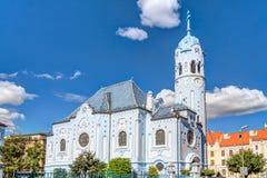 Kerk van St Elizabeth Bratislava Royalty-vrije Stock Foto