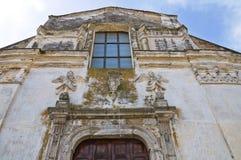 Kerk van St. Filippo Neri. Tursi. Basilicata. Italië. royalty-vrije stock foto