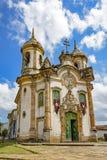 Kerk van St Francis van Assisi Stock Foto