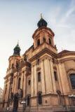 Kerk van St Gallus in Praag, Tsjechische Republiek royalty-vrije stock foto