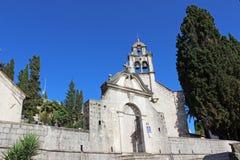 Kerk van St George in Herceg Novi Stock Afbeeldingen