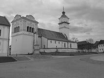 Kerk van St George in Poprad, Slowakije Stock Fotografie