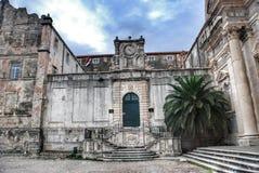 Kerk van St Ignatius in Dubrovnik Stock Foto's