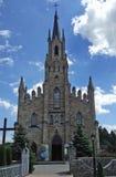 Kerk van St Jacek (Hyacint) in ChochoÅ 'ow, Nowy SÄ… CZ, Polen Stock Afbeelding
