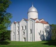 Kerk van St John doopsgezind-op-Opoki Royalty-vrije Stock Afbeeldingen