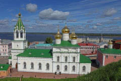 Kerk van St John Doopsgezind. Rusland. Royalty-vrije Stock Foto