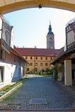 Kerk van St John Doopsgezind, Varazdin royalty-vrije stock fotografie