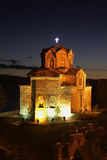 Kerk van St John in Kaneo in Ohrid macedonië Royalty-vrije Stock Foto