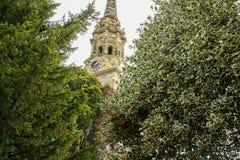 Kerk van St Lawrence, Mereworth, Kent, het UK stock afbeeldingen