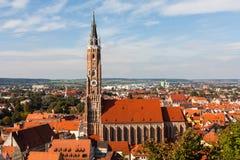 Kerk van St Martin in Landshut Royalty-vrije Stock Afbeeldingen
