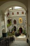 Kerk van St Mary Draperis Istanbul Stock Foto's