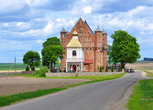 Kerk van St Michael de Aartsengel in Synkovichi wit-rusland Royalty-vrije Stock Foto