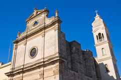 Kerk van St. Michele. Manduria. Puglia. Italië. stock foto's