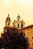 Kerk van St Nicholas Stock Afbeeldingen