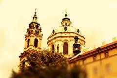 Kerk van St Nicholas Royalty-vrije Stock Afbeeldingen
