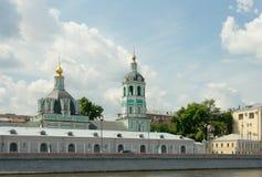 Kerk van St. Nicholas (Kerk van de Transfiguratie) in Zayait Stock Foto