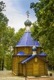 Kerk van St Nicholas Makarov Monastery in Saransk Stock Foto