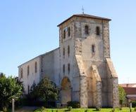 Kerk van st-Pée-sur-Nivelle frankrijk Royalty-vrije Stock Foto's